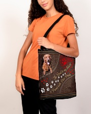 The Road To My Heart Is Paved Paw Golden Retriever All-over Tote aos-all-over-tote-lifestyle-front-07