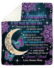 """I Couldn't Have Love You More To Bonus Daughter Sherpa Fleece Blanket - 50"""" x 60"""" thumbnail"""