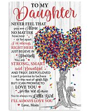 Daughter Promise To Love You For The Rest Of Mine 11x17 Poster front