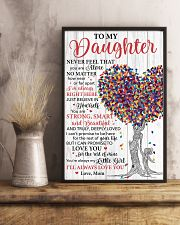 Daughter Promise To Love You For The Rest Of Mine 11x17 Poster lifestyle-poster-3