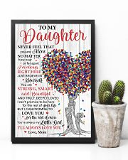 Daughter Promise To Love You For The Rest Of Mine 11x17 Poster lifestyle-poster-8