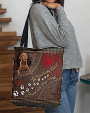 Vizsla-dog-the-road-to-my-heart All-over Tote aos-all-over-tote-lifestyle-front-09
