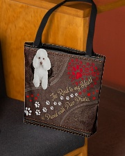 Poodle-dog-the-road-to-my-heart All-over Tote aos-all-over-tote-lifestyle-front-02