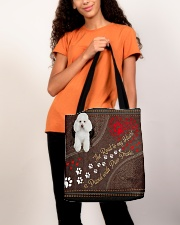 Poodle-dog-the-road-to-my-heart All-over Tote aos-all-over-tote-lifestyle-front-06