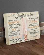 To Daughter-In-Law I Did Not Get To Choose U Honor 14x11 Gallery Wrapped Canvas Prints aos-canvas-pgw-14x11-lifestyle-front-10