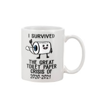 I survived the great toilet paper crisis of year  Mug front