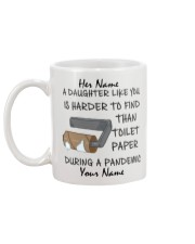 Personalized A Daughter Like You Harder to find Mug back