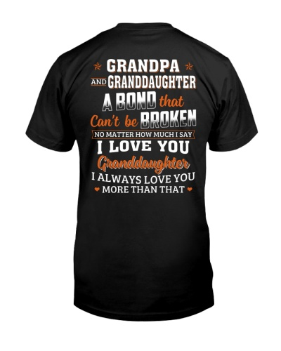 GP GD A Bond That Can't Be Broken - For Grandpa