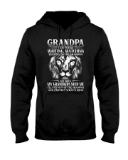Grandpa step out of the shadows protect mine Hooded Sweatshirt thumbnail