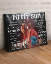 Wherever Your Journey In Life Basketball DadTo Son 20x16 Gallery Wrapped Canvas Prints aos-canvas-pgw-20x16-lifestyle-front-07