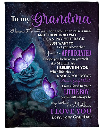 Grandma Butterfly U'll Always Be My Loving Mother