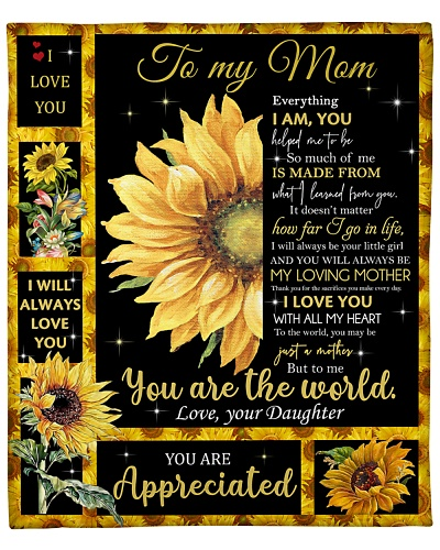 Mom Sunflower You'll Always Be My Loving Mother