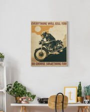 Everything Will Kill You So Choose Something Fun 16x20 Gallery Wrapped Canvas Prints aos-canvas-pgw-16x20-lifestyle-front-03
