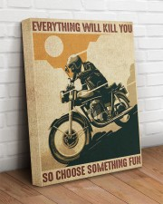 Everything Will Kill You So Choose Something Fun 16x20 Gallery Wrapped Canvas Prints aos-canvas-pgw-16x20-lifestyle-front-14