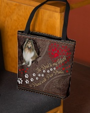 Shetland-Sheepdog-dog-the-road-to-my-heart All-over Tote aos-all-over-tote-lifestyle-front-02