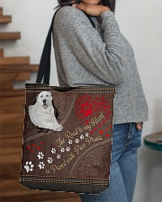 Central-Asian-Shepherd-dog-the-road-to-my-heart All-over Tote aos-all-over-tote-lifestyle-front-09