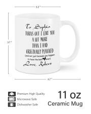 Personalized Turn Out I Like You A Lot More Mug ceramic-mug-lifestyle-62