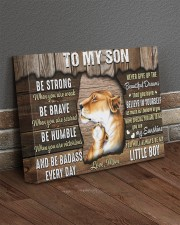 Be Strong When U Are Weak Mom To Son 14x11 Gallery Wrapped Canvas Prints aos-canvas-pgw-14x11-lifestyle-front-10