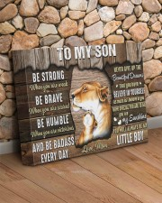 Be Strong When U Are Weak Mom To Son 14x11 Gallery Wrapped Canvas Prints aos-canvas-pgw-14x11-lifestyle-front-18