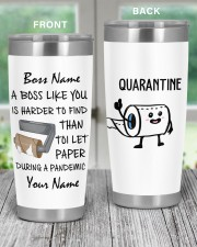 Personalized Name Boss Like You Is Harder to find 20oz Tumbler aos-20oz-tumbler-lifestyle-front-59
