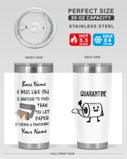 Personalized Name Boss Like You Is Harder to find 20oz Tumbler aos-20oz-tumbler-lifestyle-front-60