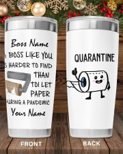 Personalized Name Boss Like You Is Harder to find 20oz Tumbler aos-20oz-tumbler-lifestyle-front-97