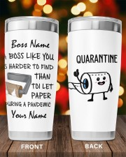 Personalized Name Boss Like You Is Harder to find 20oz Tumbler aos-20oz-tumbler-lifestyle-front-98
