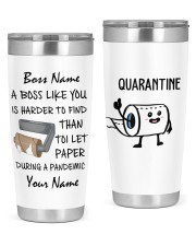 Personalized Name Boss Like You Is Harder to find 20oz Tumbler front