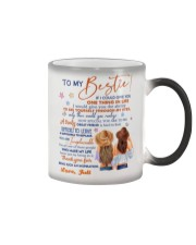 Personalized Name If I Could Give U 1thing -Bestie Color Changing Mug tile