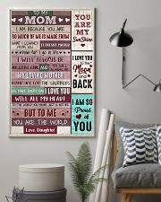 Mom Thanks4 The Sacrifices U Make Every Day ILoveU 11x17 Poster lifestyle-poster-1