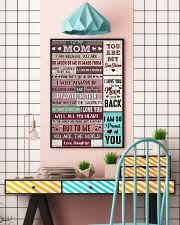 Mom Thanks4 The Sacrifices U Make Every Day ILoveU 11x17 Poster lifestyle-poster-6