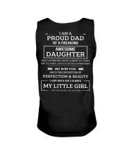 Dad And Awesome Daughter Unisex Tank thumbnail