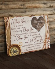 Personalized Choose u To Do Life With Hand In Hand 14x11 Gallery Wrapped Canvas Prints aos-canvas-pgw-14x11-lifestyle-front-19