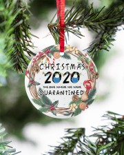 Christmas 2020 The One Where We Were Quarantined Circle ornament - single (porcelain) aos-circle-ornament-single-porcelain-lifestyles-07
