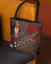 Bloodhound-dog-the-road-to-my-heart All-over Tote aos-all-over-tote-lifestyle-front-02