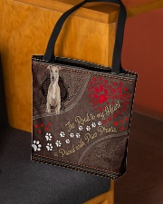 Greyhound-dog-the-road-to-my-heart All-over Tote aos-all-over-tote-lifestyle-front-02