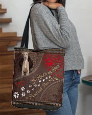 Greyhound-dog-the-road-to-my-heart All-over Tote aos-all-over-tote-lifestyle-front-09