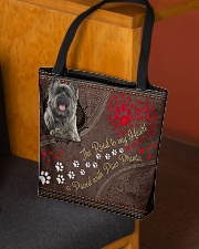 Cairn-Terrier-dog-the-road-to-my-heart All-over Tote aos-all-over-tote-lifestyle-front-02