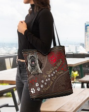 Cairn-Terrier-dog-the-road-to-my-heart All-over Tote aos-all-over-tote-lifestyle-front-04