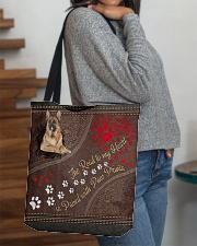 The Road To My Heart Is Paved Paw German Shepherd All-over Tote aos-all-over-tote-lifestyle-front-09