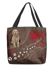 goldendoodle-dog-the-road-to-my-heart All-over Tote front