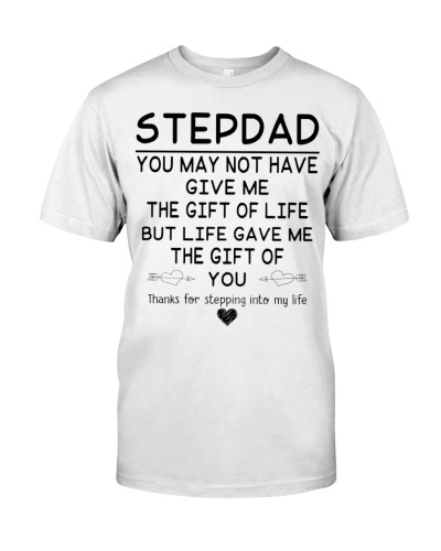 Stepdad Thanks 4Stepping Into My Heart - For Dad