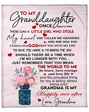 """Once Upon A Time Grandma To Granddaughter Fleece Blanket - 50"""" x 60"""" front"""