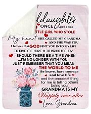 "Once Upon A Time Grandma To Granddaughter Sherpa Fleece Blanket - 50"" x 60"" thumbnail"