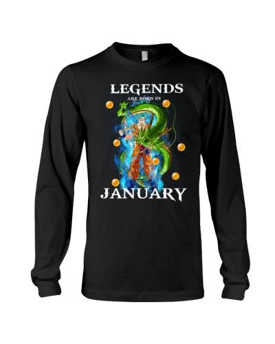 Dragon goku Legends are born in January