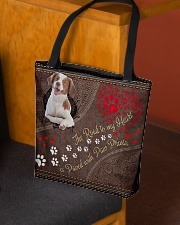 Brittany-dog-the-road-to-my-heart All-over Tote aos-all-over-tote-lifestyle-front-02
