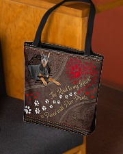 Beauceron-dog-the-road-to-my-heart All-over Tote aos-all-over-tote-lifestyle-front-02
