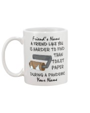 Personalized A Friend Like You Harder to find Mug back