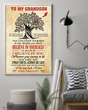 To My Grandson I Pray You'll Always Be Safe 11x17 Poster lifestyle-poster-1