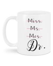 Miss Ms Mr Dr Doctorate Graduation Gift Mug back